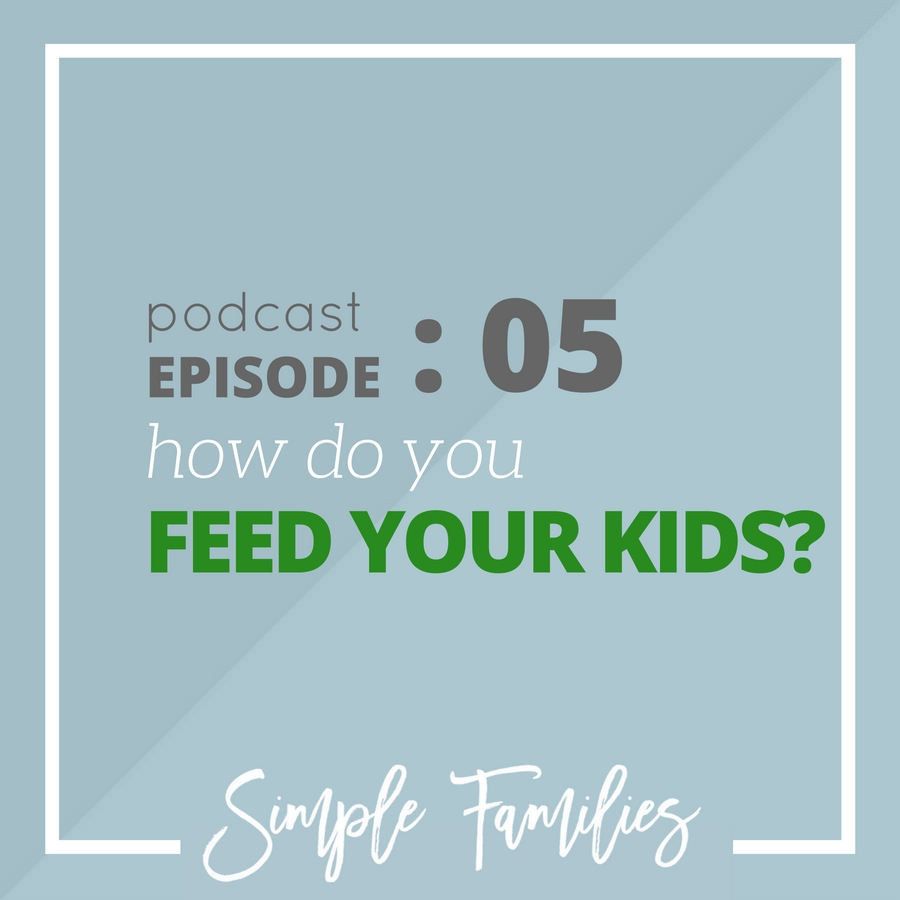 How do you feed your kids?