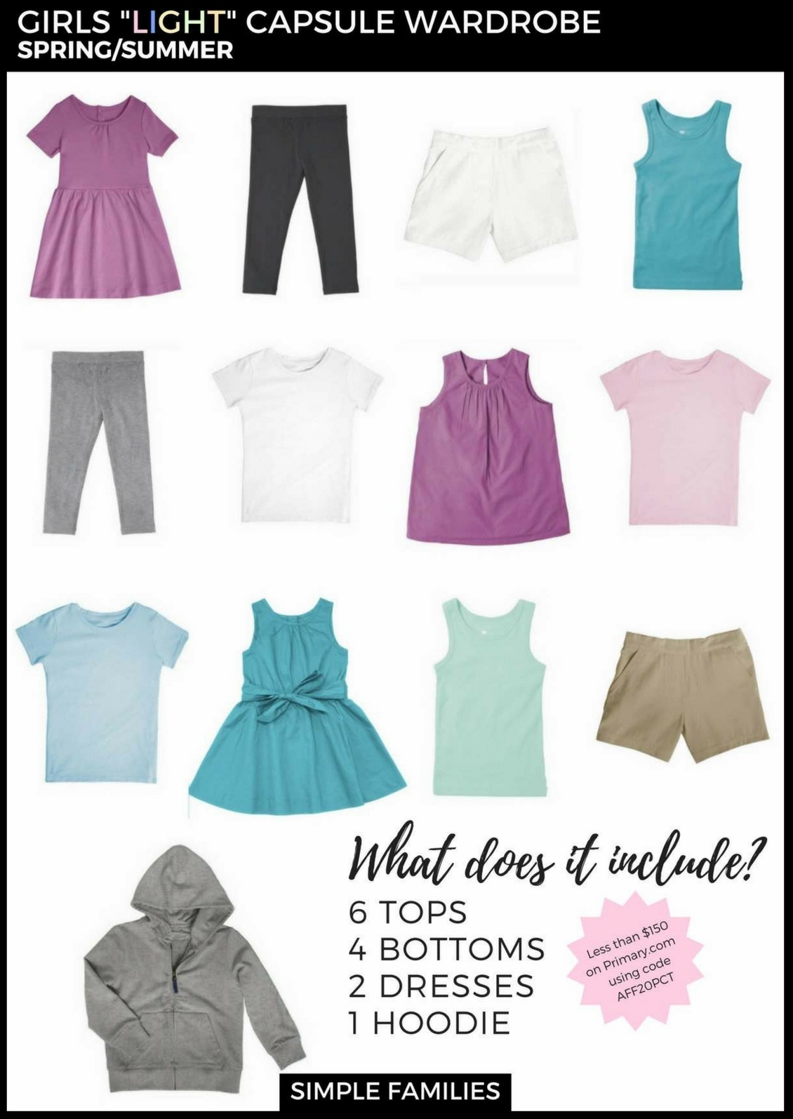 973b1ccc4 How to Create a Basic Capsule Wardrobe for Kids