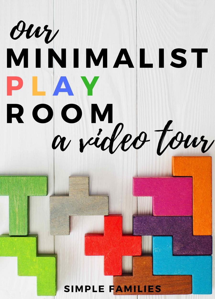 Our minimalist playroom video tour simple families for Minimalist family