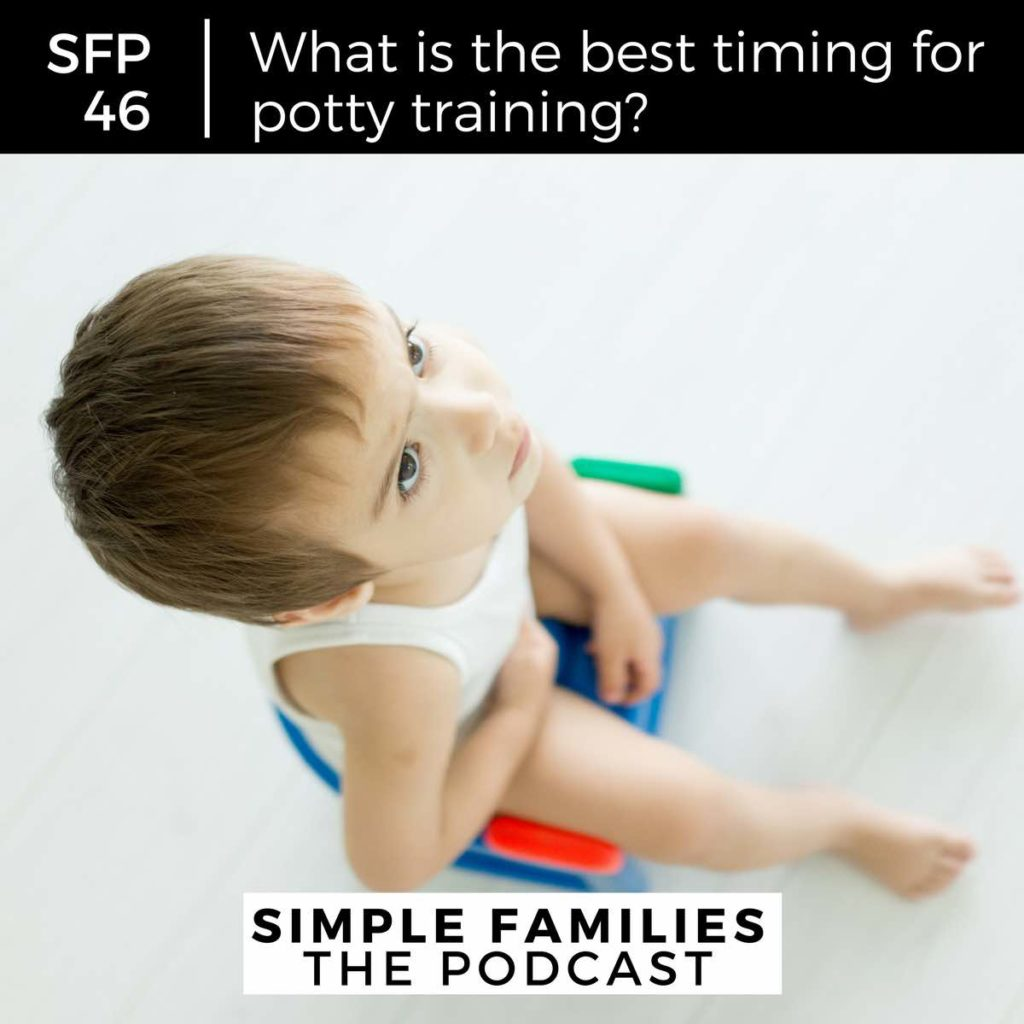 what's the best timing for potty training