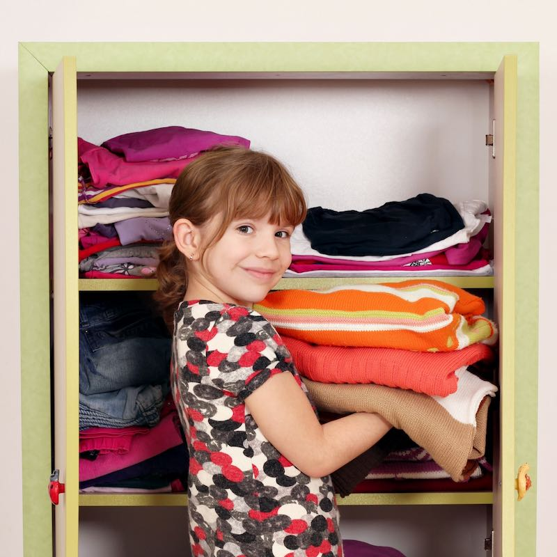 How do you refuse hand-me-downs?