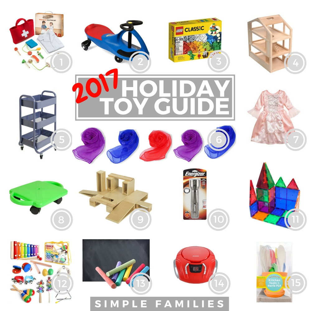 simple holiday toy guide